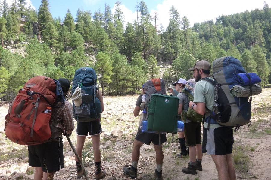 Prescott College Students Master of Arts Adventure Education